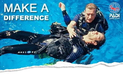 PADI Rescue Diver Course at Jetty Dive