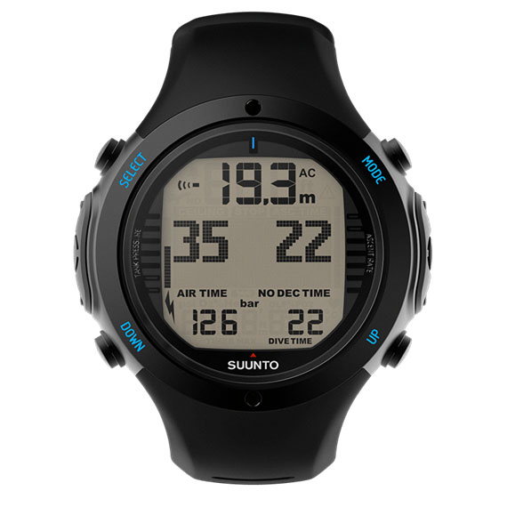 Suunto D6i Novo Dive Computer in black