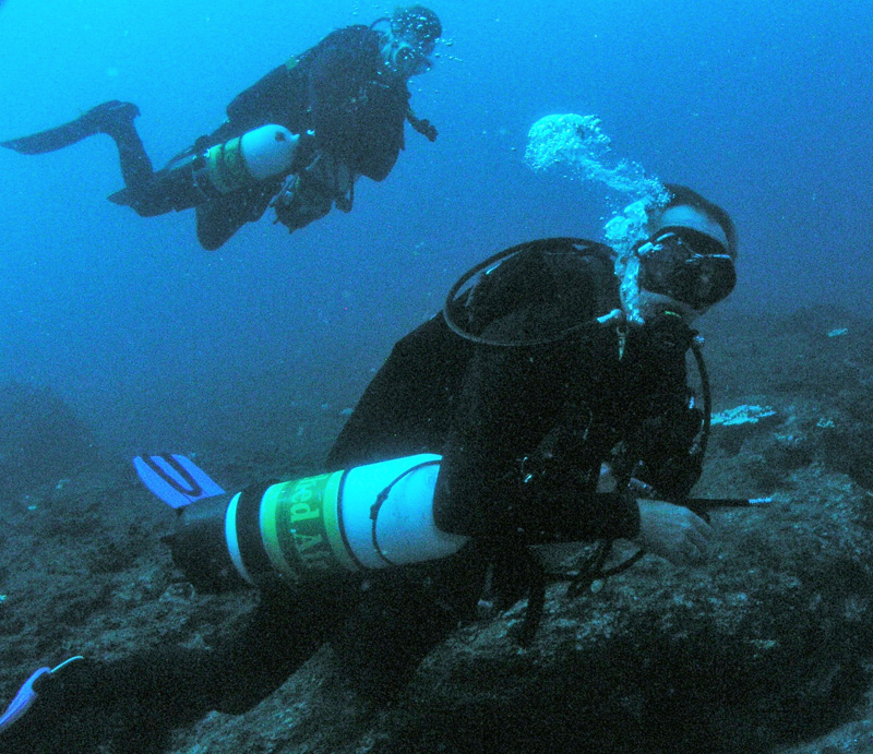 Siemount Diver course at South Solitary Island