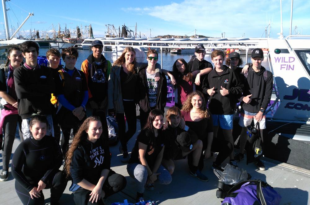 Toormina High School snorkel 2017