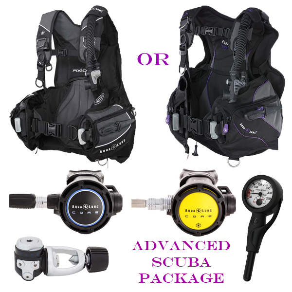 Aqualung Advanced Diver SCUBA Package