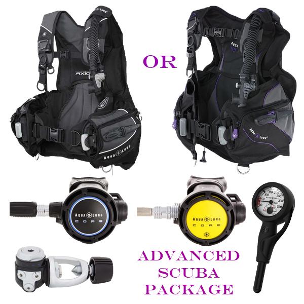 Aqualung Advanced Diver SCUBA Package