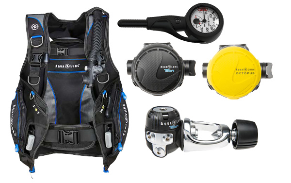 Aqualung Open Water Diver Scuba Package
