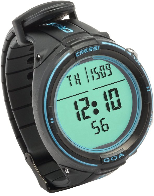 Cressi Goa Dive Computer Black Blue