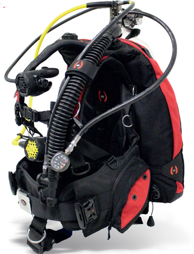 Hollis HD200 LX Scuba Package
