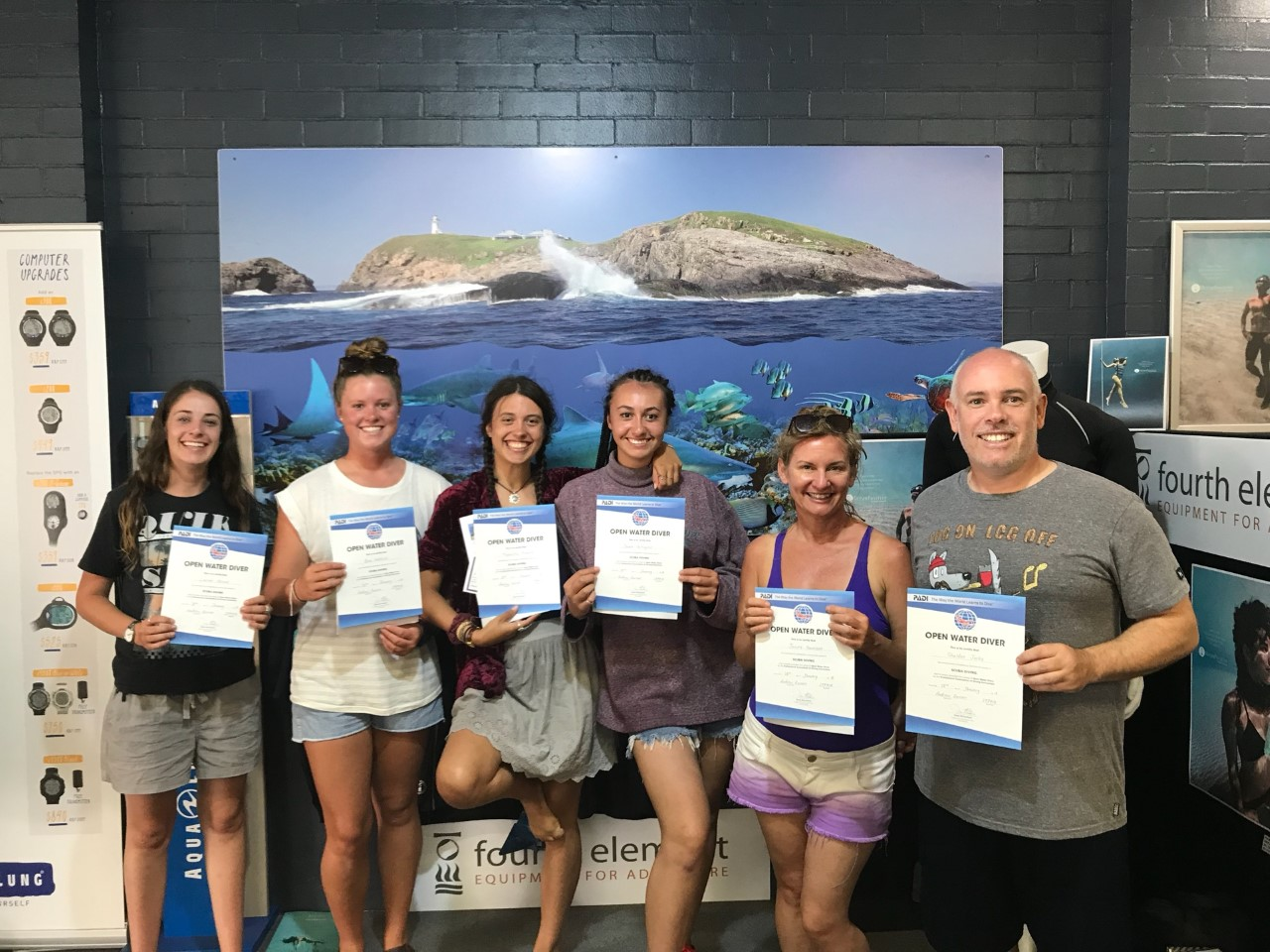 Open Water Course January 2018