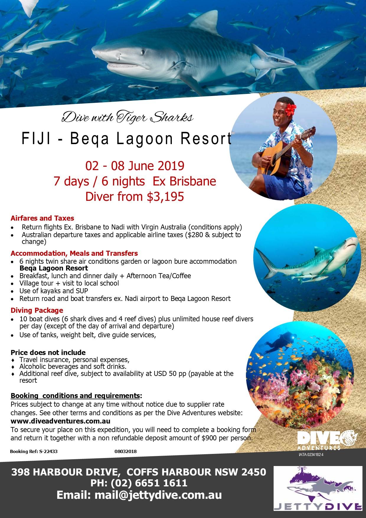 Fiji Beqa Lagoon Resort Trip 2019